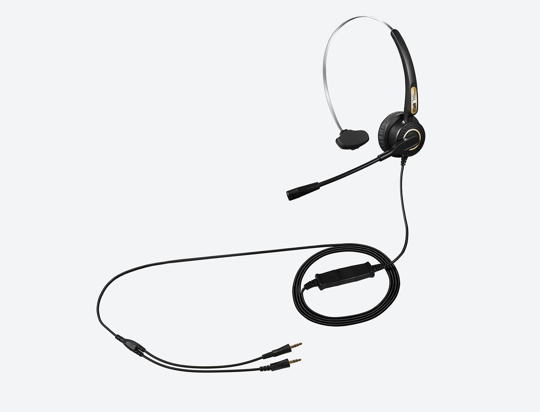 防噪音电脑耳机